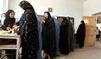 Un électeur mutilé par les taliban