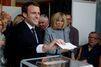 Emmanuel Macron a voté au Touquet