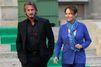 Rencontre à Paris entre Ségolène Royal et Sean Penn