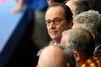 François Hollande est dans les gradins du Stade de France