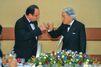 Japon. L'empereur et le président
