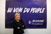 Marine Le Pen inaugure son QG de campagne