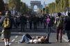 Sur les Champs-Elysées sans voitures