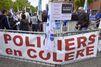 """Les policiers manifestent contre la """"haine anti-flics"""""""
