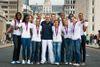 """Basket: les """"braqueuses"""" posent pour Paris Match"""