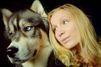 Amanda a été sauvée par Kyro, son husky