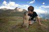 Matteo, le garçonnet aux marmottes