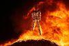 Le feu emporte Burning Man