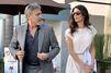 George et Amal Clooney amoureux à Los Angeles