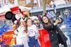 Instant de complicité à Disney pour Salma Hayek et sa fille Valentina