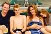 Cindy Crawford, Rande Gerber et leurs deux enfants