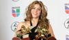 La chanteuse Shakira s'est rendue en Haïti