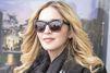 Madonna prête à emmener son fils Rocco à l'école