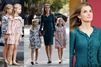 La reine Letizia et ses filles fêtent l'Espagne