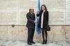 Letizia s'affiche en robe mini à Rome pour la nutrition