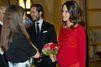 La princesse Sofia flamboyante et très enceinte