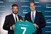 David Beckham et le prince William unis pour la vie sauvage
