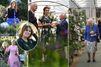 Kate rejoint Elizabeth, Sophie, Beatrice et Eugenie au Chelsea Flower Show
