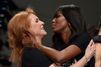 Fergie enflamme le podium avec Naomi Campbell