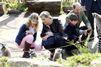 Sophie et Edward emmènent leurs enfants au zoo