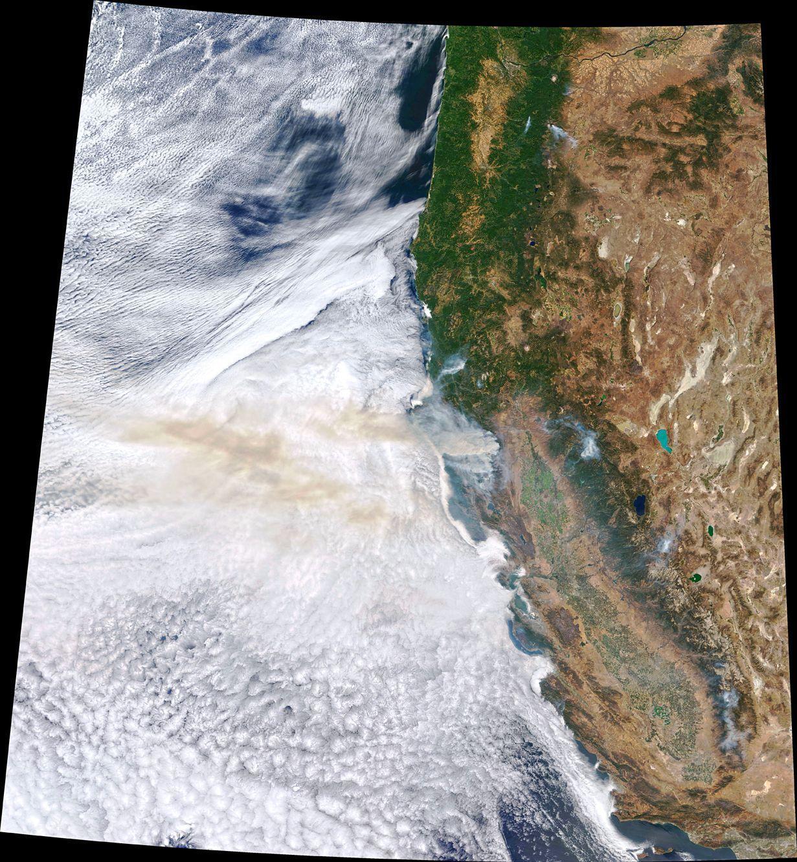 Incendies dans l'Ouest des Etats-Unis - 2 septembre