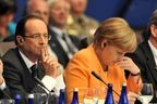 François Hollande, imperturbable