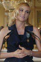 Diane Kruger, éblouissante pour sa décoration