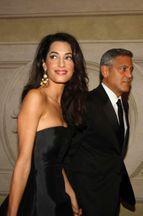 George Clooney et Amal. La promesse italienne
