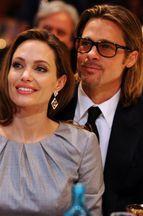 Les amis d'Angelina et Brad réagissent