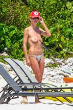Heidi Klum au fil des étés