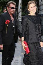 Johnny Hallyday et Julie Gayet fêtent la mode
