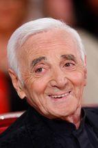 Aznavour sur le canapé rouge de Drucker