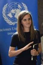 Emma Watson en Uruguay pour les femmes