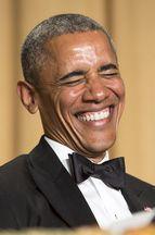 Barack Obama, humour et glamour