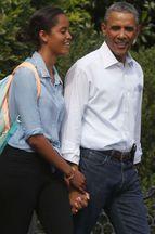 Malia Obama contre 50 vaches et 70 moutons