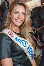 Miss France 2015 illumine le Salon de l'Agriculture