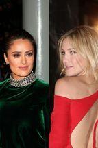 Défilé de stars chez Saint Laurent et Versace