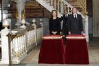 L'adieu de Sofia et Juan Carlos à Cayetana