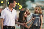 Letizia, Felipe et les filles: l'album des vacances