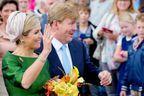 Maxima et Willem-Alexander, des sourires pour leur église