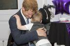 Harry fait le bonheur des enfants malades