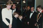 Robin Williams et la famille royale, une histoire d'amitié