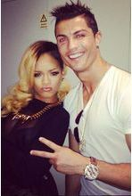 Rihanna tente de consoler Cristiano Ronaldo