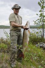 Vladimir Poutine, cet excellent pêcheur