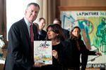 Le maire de New-York, au chevet de Charlie Hebdo