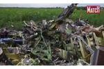 Sur les lieux du crash du MH17, en Ukraine