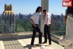 Thiago Silva et Cavani à l'heure américaine