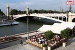 Paris: terrasses au bord de l'eau