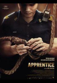 """L'affiche d'""""Apprentice"""""""