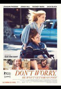 Joaquin Phoenix et Jonah Hill dans Don't Worry, He Won't Get Far on Foot